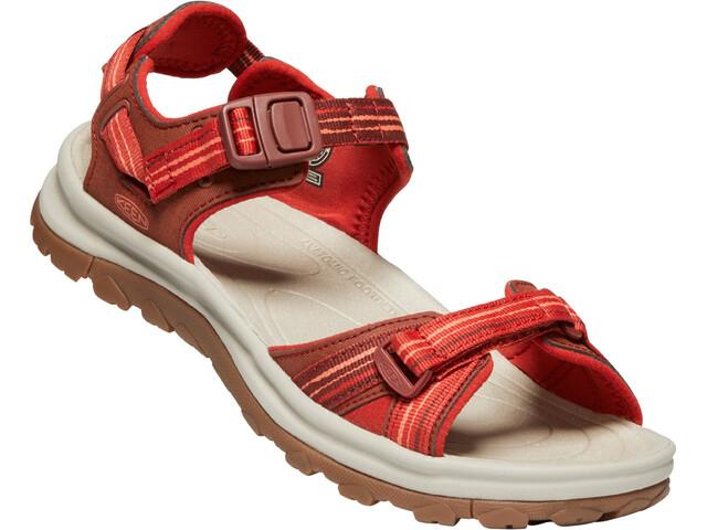 Keen Terradora II Sandały Kobiety, dark red/coral